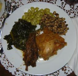 Dinner at Paula's
